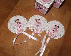 Kit Festa Minnie Rosa 2
