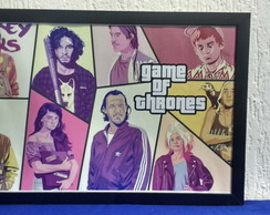 Poster Game of Thrones - GTA