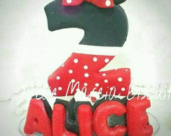 Vela tema Minnie Biscuit