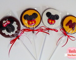 Pirulito de chocolate - Mickey