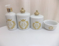 kit porcelana urso