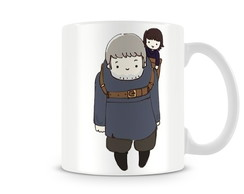 Caneca Game of Thrones hodor e brandon