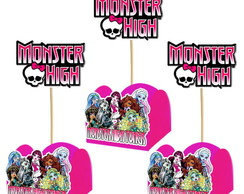 FORMINHA E TOPPER MONSTER HIGH