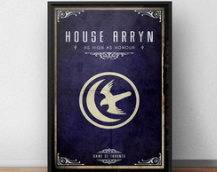 Quadro Game Of Thrones Arryn Moldura