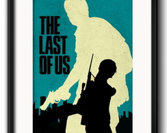Quadro Last Of Us Minimalista Paspatur