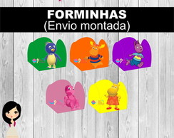 Forminha Backyardigans