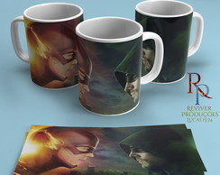 Caneca Série The Flash E Arrow
