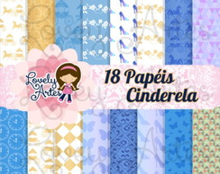 Kit Digital Paper Cinderella