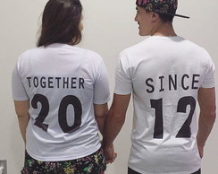 Camisetas Personalizada Together