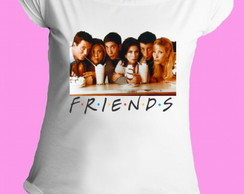 Camiseta Friends gola canoa 2