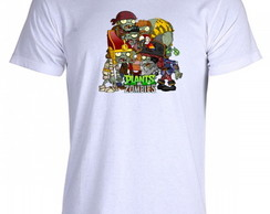 Camiseta Plants vs Zombies - 07