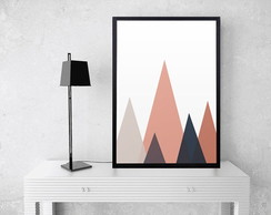Quadrinho MDF | Mountains