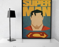 Quadro Decorativo Super Man