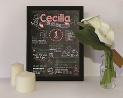 Chalkboard Digital - Peppa Pig