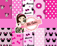 Kit Papéis Minnie 01