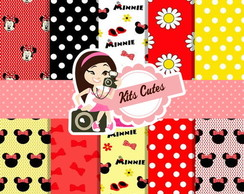 Kit Papéis Minnie 02
