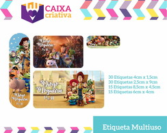Kit Etiquetas Escolares Toy Story