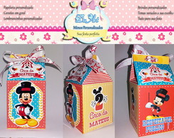 CAIXA MILK 3D - CIRCO DO MICKEY