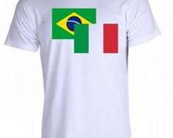 Camiseta Itália - 04 b454bac07edde