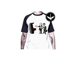 Camiseta raglan Pulp Fiction