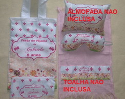 kit festa do pijama personalizado
