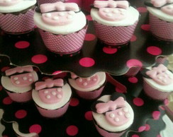 Mini Cupcake - Minnie Rosa