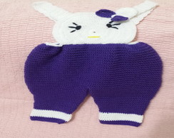 CONJUNTO HELLO KITTY EM CROCHE