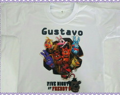 Camiseta Five Night at Fredy's