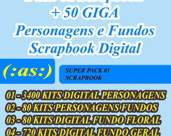 Super Kit Premium Scrapbook