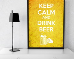 Quadro Decorativo Keep Calm