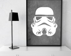 Kit com 3 Quadros Decorativos Star Wars
