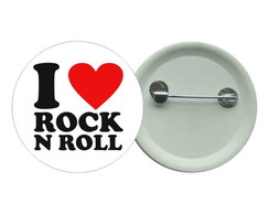 I Love Rock - Bottom 3,5 Buton Rock
