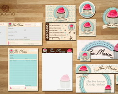 Kit Identidade Visual - Cupcake 2