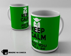 Caneca Keep Calm Star Wars