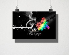 Poster A3 Pink Floyd