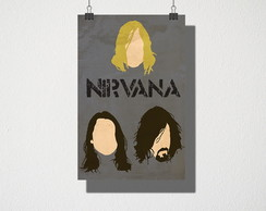 Poster A3 Nirvana