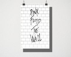 Poster A3 Pink Floyd The Wall