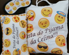Kit Festa do Pijama Emoji