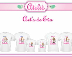 Kit Camiseta Jolie