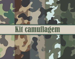 Kit digital camuflagem