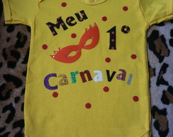 Body Customizado Carnaval