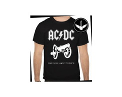 Camiseta AC/DC For Those About To Rock