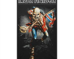 Adesivo Iron Maiden The Trooper 5x8cm