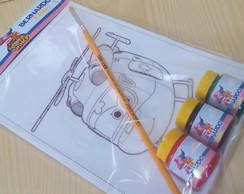 Kit de Pintura Super Wings