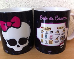 Caneca Monster High Personalizada