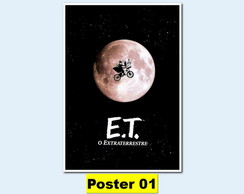 POSTER 30X40 - E.T. - O Extraterrestre