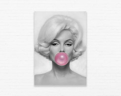 Quadrinho 19x27 Marylin Bubblegum