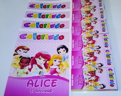 Kit de Colorir - Princesas Baby