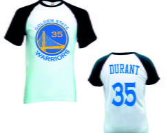 Camiseta Raglan Golden State Warrior nba