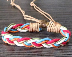 Pulseira Braided Colors